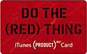 iTunes (PRODUCT) RED Card - 3,000円 MB070J/A