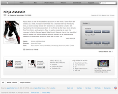 Apple - Movie Trailers - Ninja Assassin