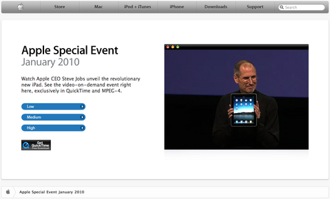 Apple Special Event January 2010 Keynote