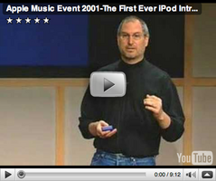 Apple Music Event 2001 The First Ever iPod Introduction
