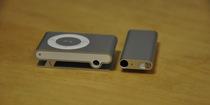 iPod shuffle 3rd Silver vs2nd