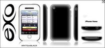 XSKN iPhone Nano 2Tone - WHITEonBLACK