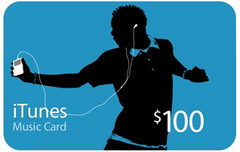 iTunes Gift Card $100 カード