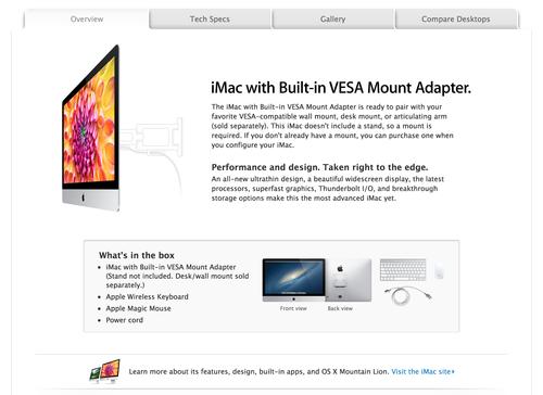 iMac VESA 2