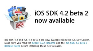 iOS SDK 4.2 beta 2 now available