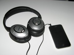 QuietComfort 15 with iPhone 3GS