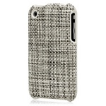 Griffin Elan Form Chilewich Case for iPhone - Light Gray