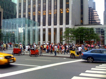 iPhone 3G Line, NY 5th Ave 001