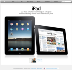 Apple Top-page