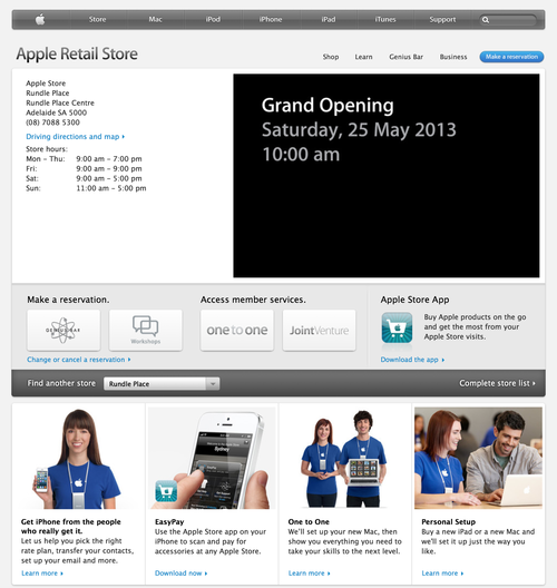 Apple Retail Store - Rundle Place (20130521)