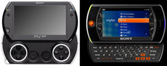 Sony PSP go vs Mylo 2