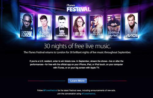 iTunes Festival 01