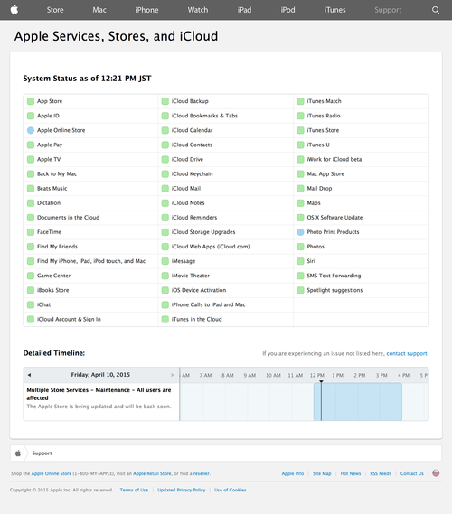 Apple - Support - System Status (20150410)