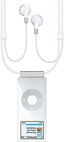 iPod nano Lanyard ヘッドフォン