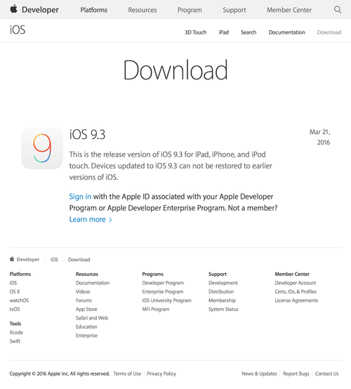Download - iOS - Apple Developer (20160329)