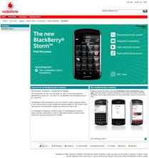 BlackBerry Storm 9500 Vodafone UK