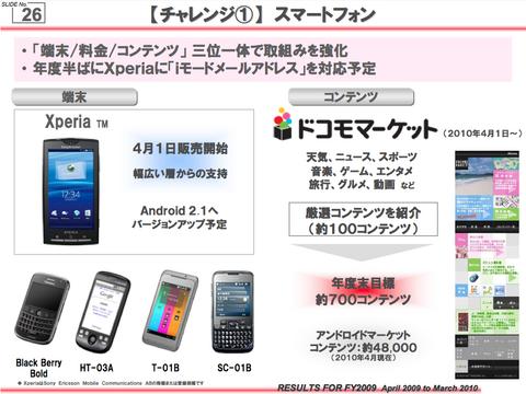 Android 2.1�� �С�����å�ͽ��
