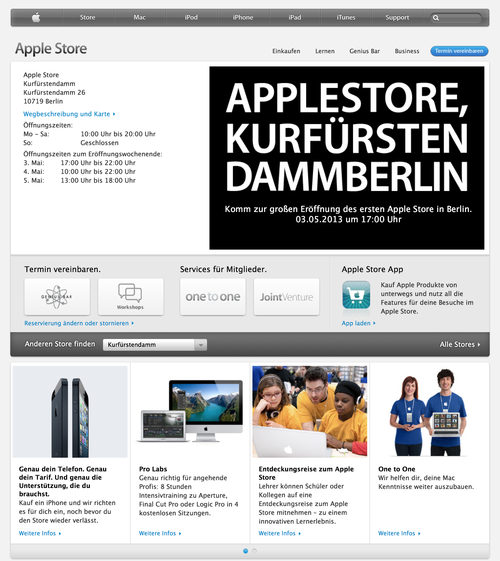 Apple Store - Kurfurstendamm (20130426)