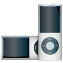 パワーサポート クリスタルフィルムセット for iPod nano 4G