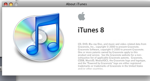 iTunes 8.2 Screen shot