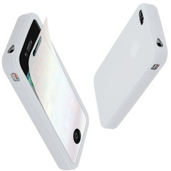 MacGizmo Silky Silicon Case for iPhone 4 White