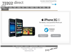Tesco iPhone UK
