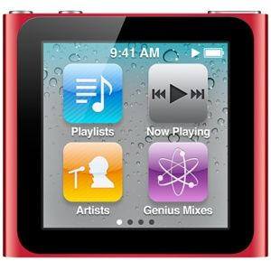 iPod nano 16GB (PRODUCT) RED