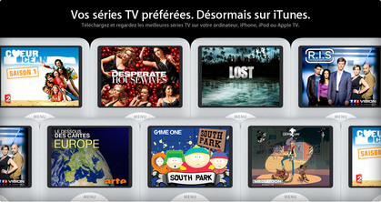 tvshows_home_270508 -  iTunes Store in France
