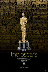 79th Annual Academy Awards Poster