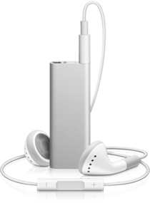 3rd generation iPod shuffle-silver