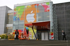 Apple preps for event at Yerba Buena in SF [images]