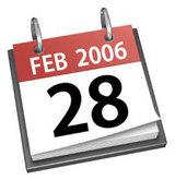 iCal 2/28/2006
