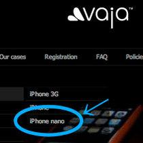 Vaja iPhone nano s