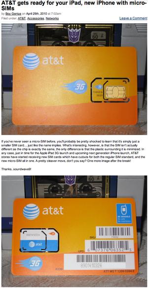 AT&T Micro-SIM