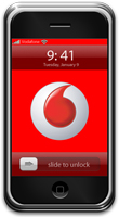 Vodafone + iPhone in Europe