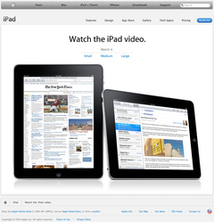 Watch the iPad video