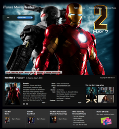 Apple - Movie Trailers - Iron Man 2