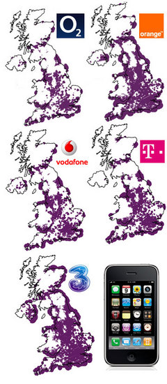 UK best 3G coverage
