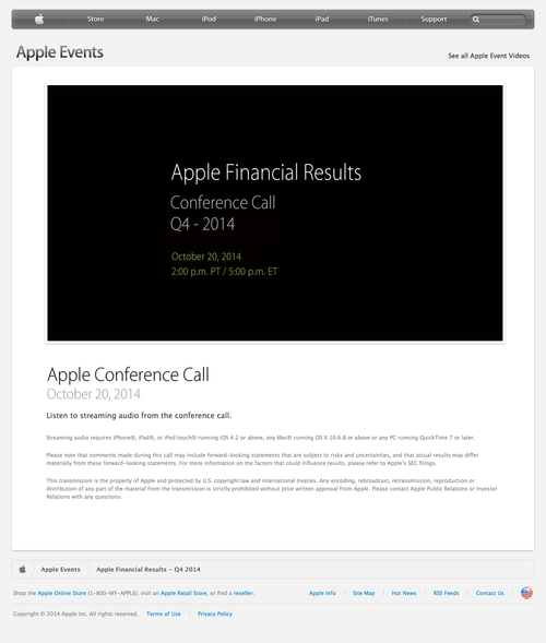 Apple---Apple-Financial-Results---Q4-2014-(20140930)