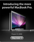 Introducing the more powerful MacBook Pro