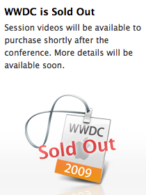WWDC is Sold Out