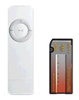 iPod shuffle in Memory Stick