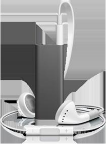 3rd generation iPod shuffle-black
