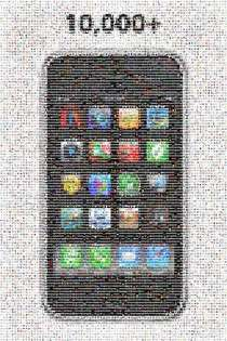 10,000 iPhone App Icon Mosaic