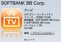 SOFTBANK BB Corp. テレビ 1.3