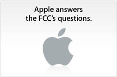Apple answers the FCC's questions. 20090821