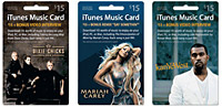 Target collectible iTunes gift cards