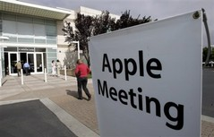 Apple Shareholder meeting