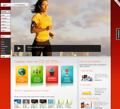 Nike+ Dashboard BETA