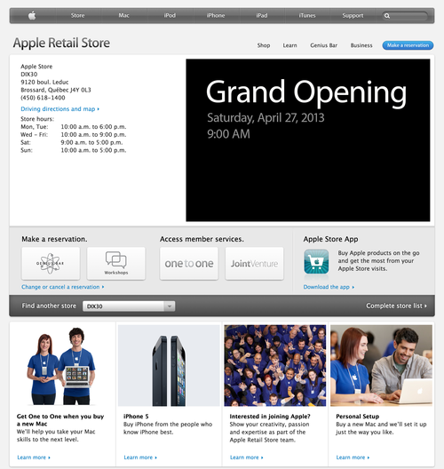 Apple Retail Store - DIX30 (20130424)